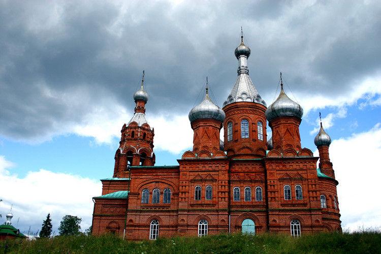 Путешествие к истоку Волги: Ольгин монастырь