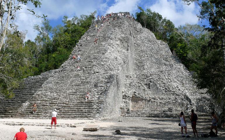 Памятки древнейшей цивилизации Майя в Мексике