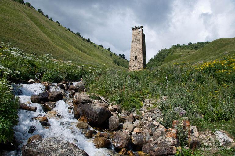 Сванские башни в Грузии