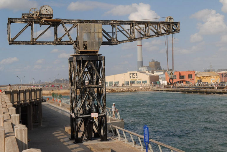 Старый порт Тель Авива (Израиль)