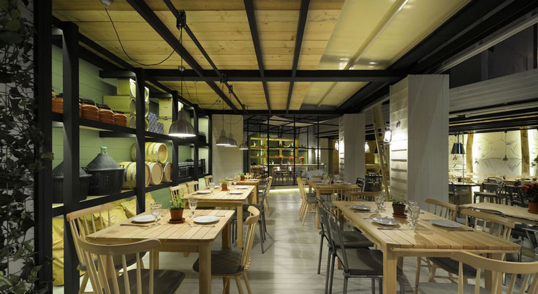 Ресторан Farma Kreaton в Комотини (Греция)