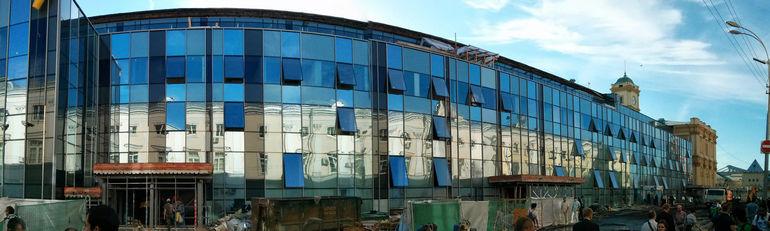Реконструкция Ленинградского вокзала по состоянию на 19 июля 2013 года