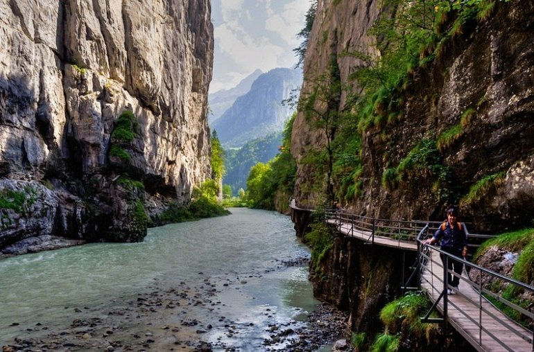 Тропа ущелья Аар (Швейцария)