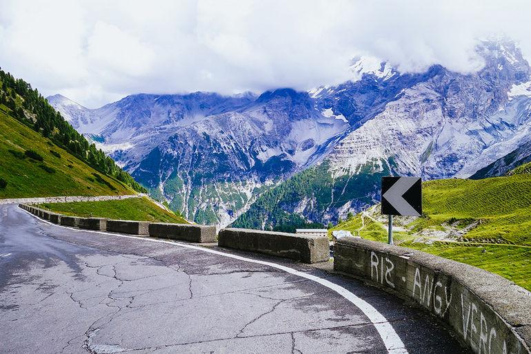 Дорога Стельвио: самый высокий из альпийских перевалов в Италии