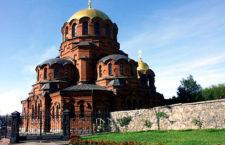 Собор во имя Александра Невского в Новосибирске (Россия)