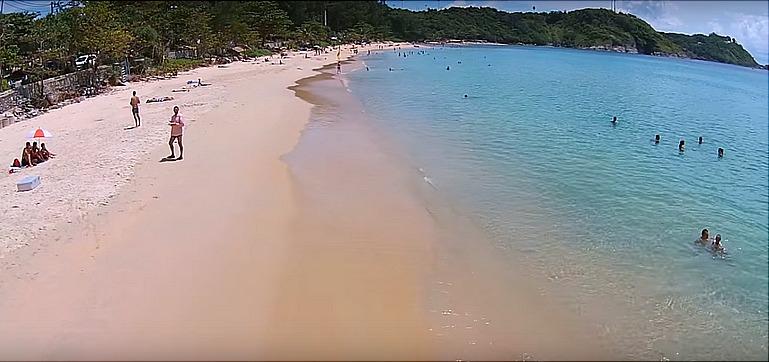 Пляж Най Харн на Пхукете (Таиланд)