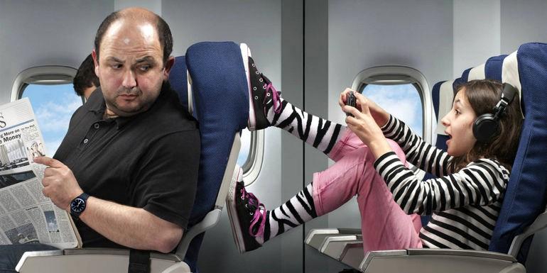 Путешествуем самолетом: сон во время полета