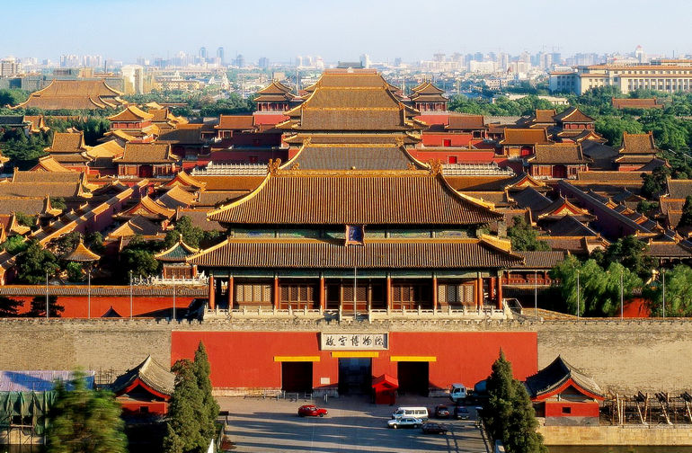Запретный город в Пекине (Китай)