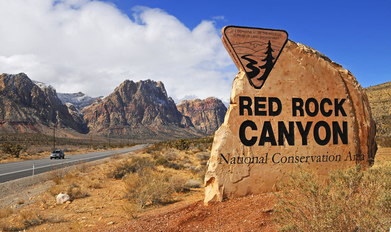 Ред Рок Каньон в Калифорнии (США)