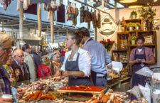 Продуктовый рынок Марктхал (Нидерланды)