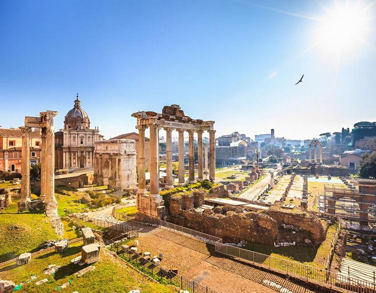 Рим   город, где встречаются ангелы и демоны