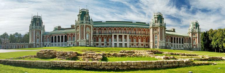 Дворцово парковый ансамбль Царицыно