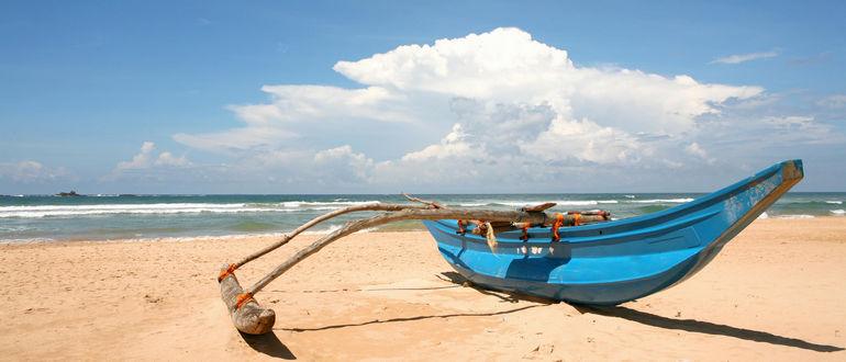 Пляж Бентота, Шри Ланка