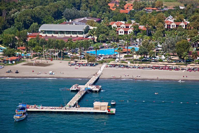 Club Tuana Fethiye: отель на берегу моря (Турция)