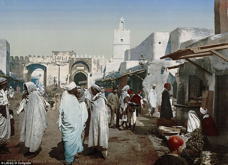 Первые цветные фотографии Северной Африки (19 век)