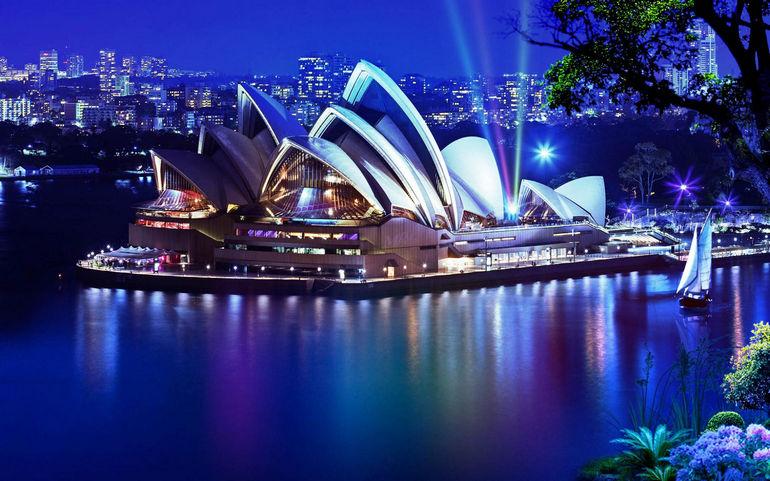 Австралия   страна, в которой все наоборот