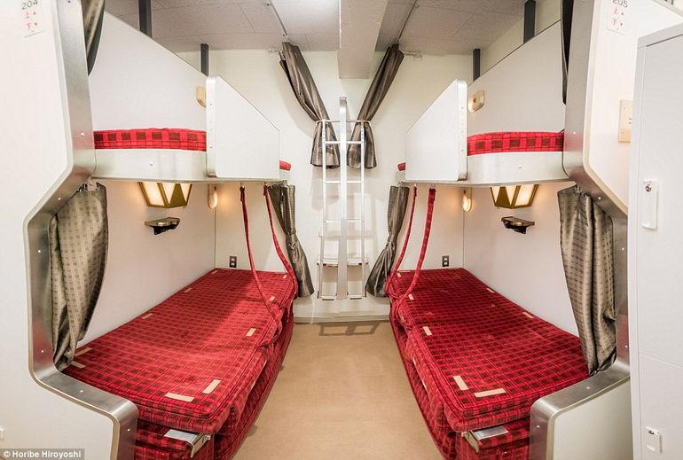 Train Hostel Hokutosei – хостел в «вагонном» стиле (Япония)