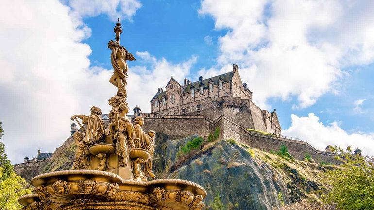 Эдинбург   3 ярких достопримечательности шотландской столицы
