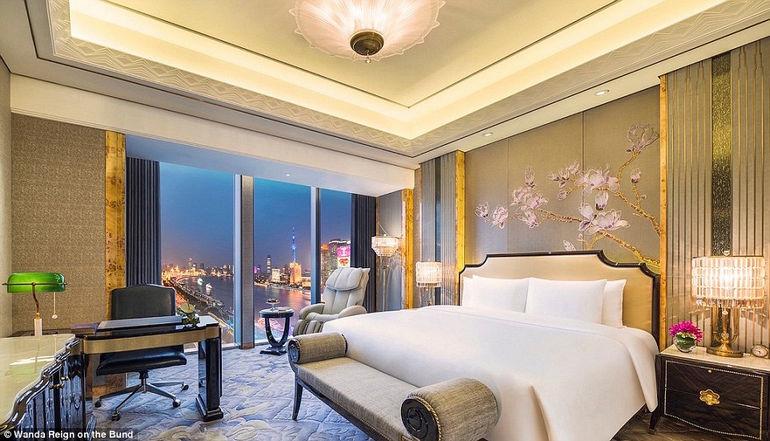 The Wanda Reign: роскошный отель в Шанхае (Китай)