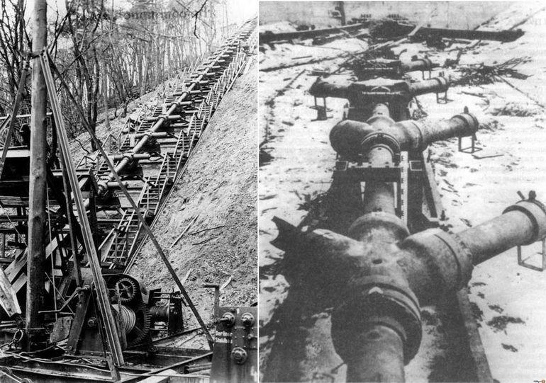 Оружие возмездия Второй мировой войны в крепости Мимуаек (Франция)