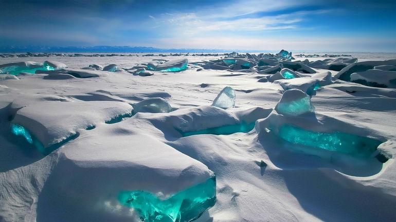 Зимой на Байкале