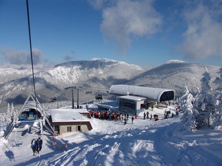 Живописные горы Словакии