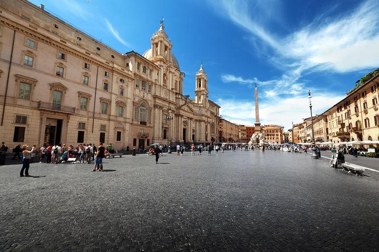Какие площади Рима нужно посетить в первую очередь?