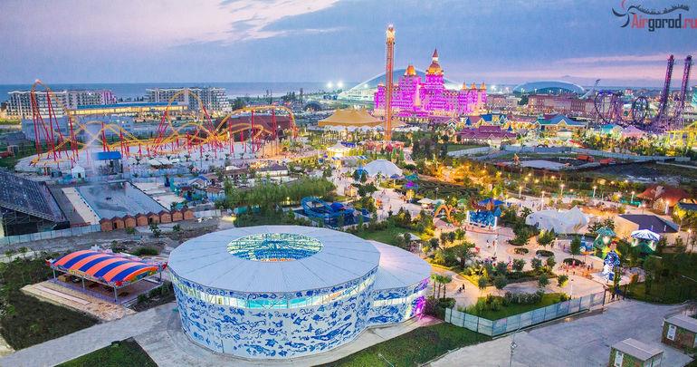 Черноморские курорты России: Сочи   летние и зимние развлечения