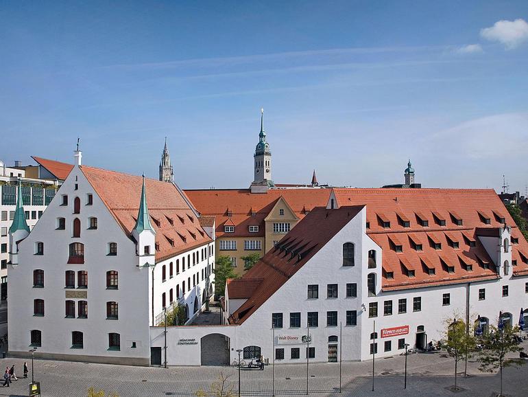 Городской музей на Сент Якобплатц в Мюнхене (Германия)
