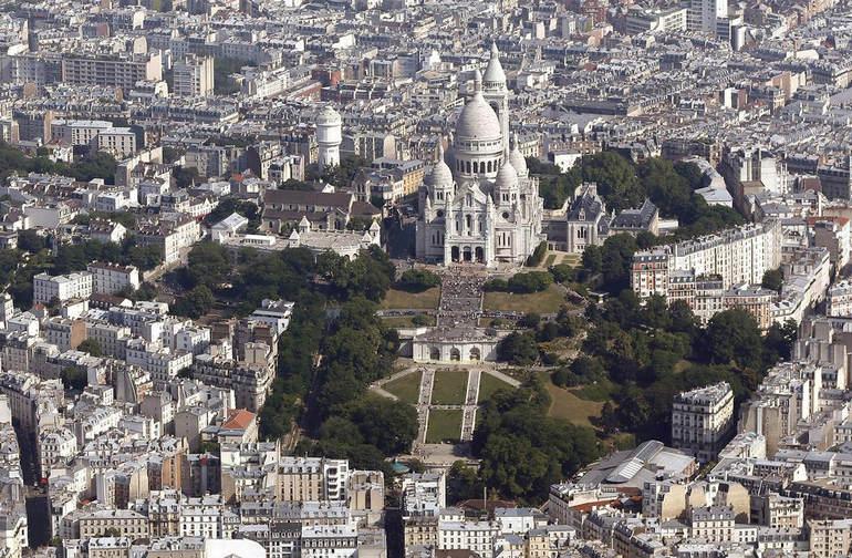 Пятерка знаковых достопримечательностей Парижа