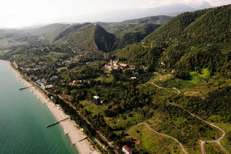 Поездка в Новый Афон (Абхазия)