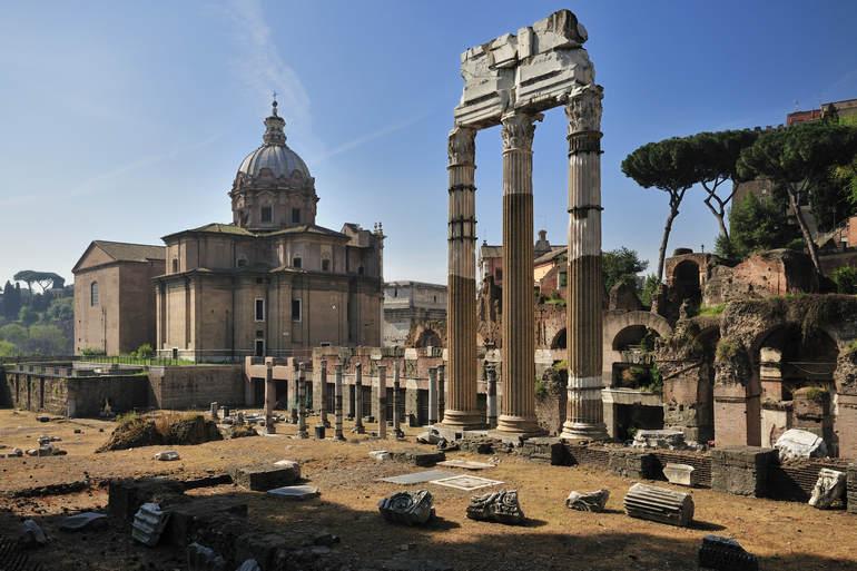 Памятники древнего Рима: Форум Траяна
