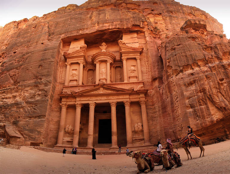 Путешествие в Петру (Иордания)