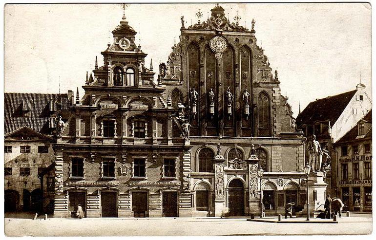 История дома Черноголовых в Риге (Латвия)