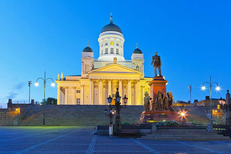Хельсинки: скромная столица