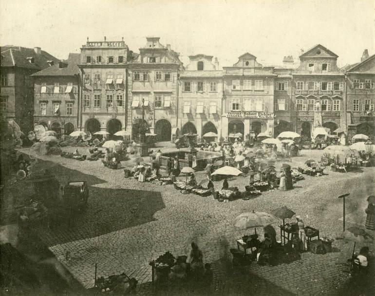 Площадь Угольный рынок в Праге (Чехия)