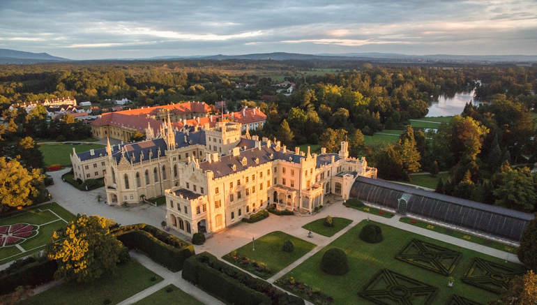 Замок Леднице (Чехия)
