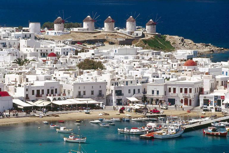 4 самых посещаемых мест Греции