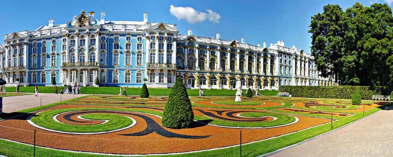 Ландшафты и дворцы пригородов Санкт Петербурга