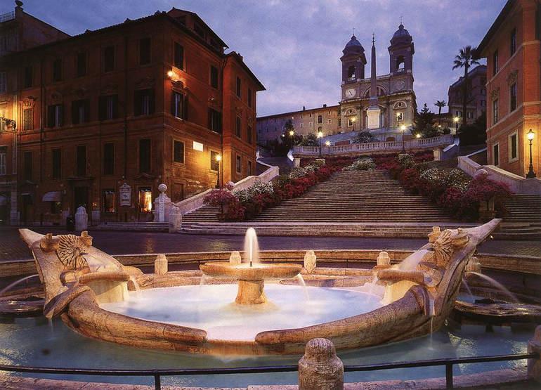 Я вышел на пригорок – и застыл. Об Испанской Лестнице в Риме