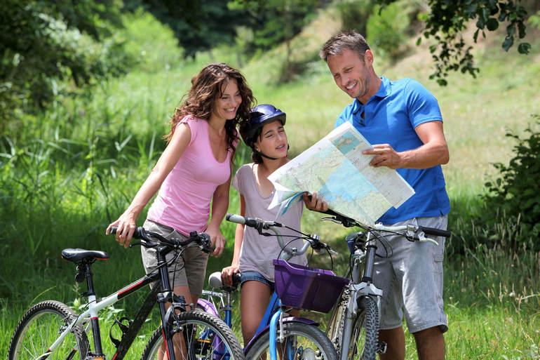 Велопрогулки – хобби для всей семьи
