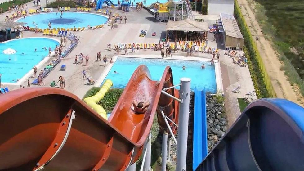 Аквапарк «Банановая республика» в Крыму