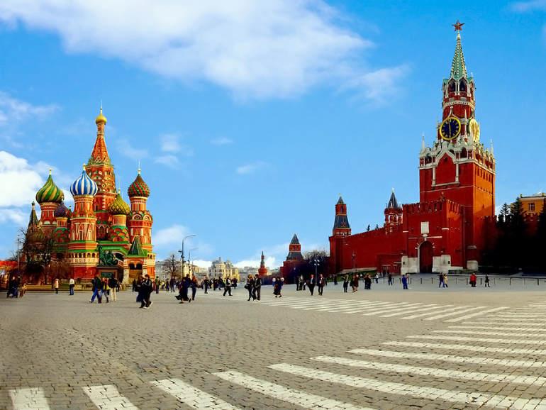 Самые посещаемые места в Москве