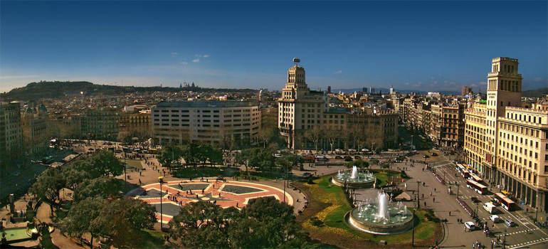 Главная артерия Барселоны – бульвар Рамбла (Испания)