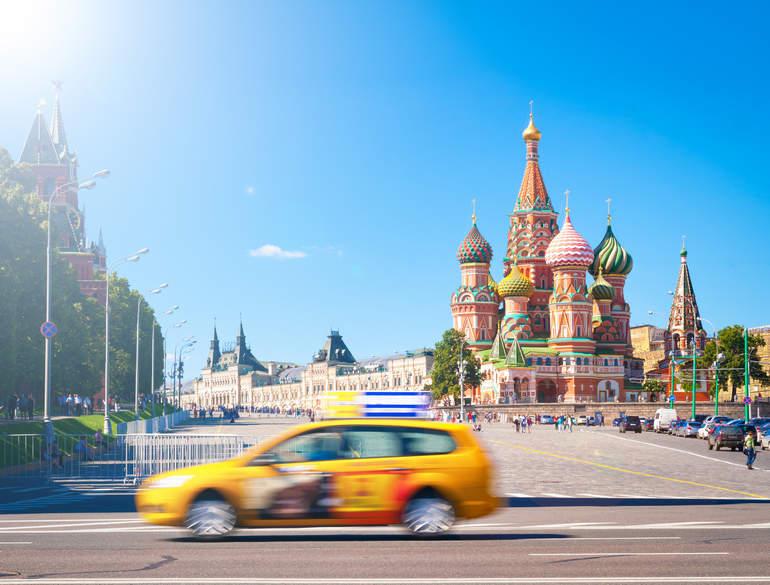 Такси в Москве для туристов: быстро, удобно, выгодно