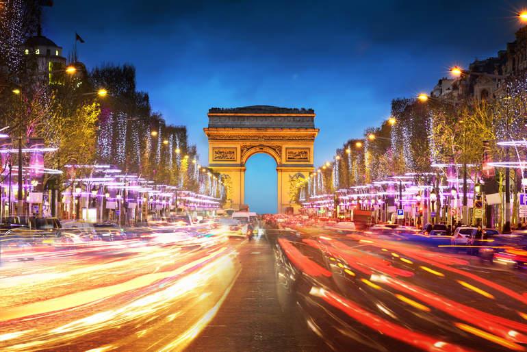 Стоимость отдыха в Париже