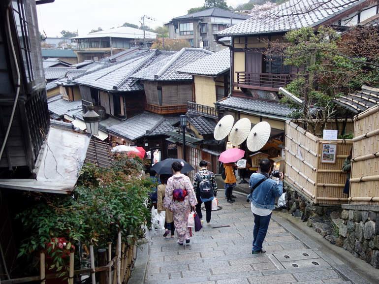 Бюджетный отдых в японском городе Киото