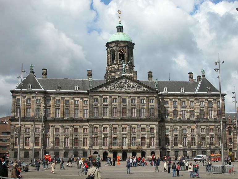 Амстердам   столица дождей