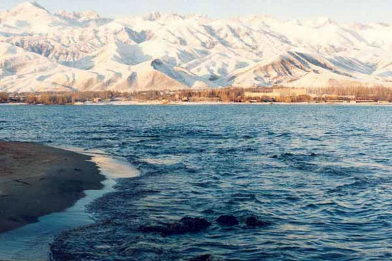 Жемчужина Киргизии   озеро Иссык Куль