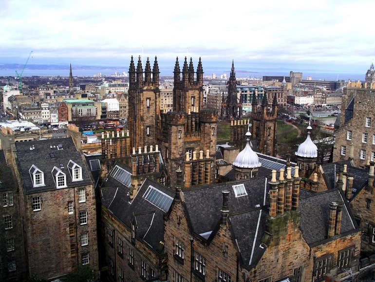Выходные в Эдинбурге с неограниченными финансовыми возможностями